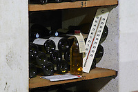 Domaine Jean Louis Denois. Limoux. Languedoc. Thermometer. Samples for control and reference. France. Europe. Bottle.