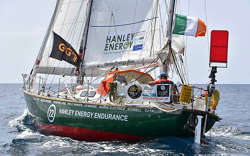 Irish Golden Globe Race entrant Gregor McGuckin