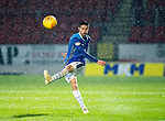 St Johnstone v Motherwell…15.12.18…   McDiarmid Park    SPFL<br />Scott Tanser at a very wet McDiarmid Park<br />Picture by Graeme Hart. <br />Copyright Perthshire Picture Agency<br />Tel: 01738 623350  Mobile: 07990 594431
