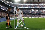 Real Madrid CF's Luka Modric talks to assistant referee during La Liga match. Feb 01, 2020. (ALTERPHOTOS/Manu R.B.)