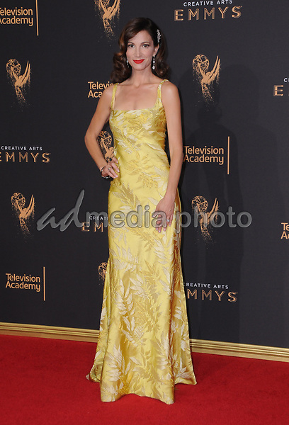 10 September  2017 - Los Angeles, California - Jama Williamson. 2017 Creative Arts Emmys - Arrivals held at Microsoft Theatre L.A. Live in Los Angeles. Photo Credit: Birdie Thompson/AdMedia