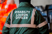 Disability Liaison Officer <br /> Re: Behind the Scenes Photographs at the Liberty Stadium ahead of and during the Premier League match between Swansea City and Bournemouth at the Liberty Stadium, Swansea, Wales, UK. Saturday 25 November 2017