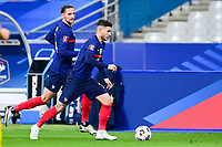 24th March 2021; Stade De France, Saint-Denis, Paris, France. FIFA World Cup 2022 qualification football; France versus Ukraine;  Lucas Hernandez (France)