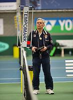 March 13, 2015, Netherlands, Rotterdam, TC Victoria, NOJK, Umpire<br /> Photo: Tennisimages/Henk Koster