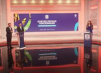 BOGOTA - COLOMBIA, 02-11-2020: Sorteo octavos de final Copa BetPlay DIMAYOR I 2020 en Bogotá. / Round of 16 draw of BetPlay DIMAYOR Cup 2020 in Bogota city. Photo: VizzorImage / Daniel Garzon / Cont