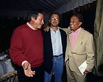 PAOLO LIGUORI CON ENRICO MENTANA ED EMILIO FEDE<br /> FESTA PER I 60 ANNI DI MAURIZIO COSTANZO<br /> MANEGGIO DI GIANNELLA  1998