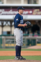 Daniel Meadows of the Brevard County Manatees during the game at Jackie Robinson Ballpark in Daytona Beach, Florida on August 23, 2010. Photo By Scott Jontes/Four Seam Images