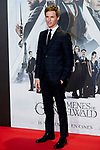 Eddie Redmayne attends to Fantastic Beasts: The Crimes of Grindelwald film premiere during the Madrid Premiere Week at Kinepolis in Pozuelo de Alarcon, Spain. November 15, 2018. (ALTERPHOTOS/A. Perez Meca)