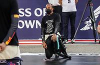 28th March 2021; Sakhir, Bahrain; F1 Grand Prix of Bahrain, Race Day;  Lewis Hamilton GBR 44, Mercedes-AMG Petronas Formula One Team