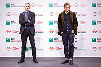 Producer Fabien Westerhoff and actorJohnny Flynn pose for photographers for the photo call of the film Stardust during the 15th edition of Rome film Fest.<br /> Rome (Italy), 16/10/2020<br /> Photo Pool Insidefoto