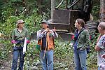 Jefferson Land Trust, Bulis Forest Preserve, forest thinning, Port Townsend, Olympic Peninsula, Jefferson County, Washington State,