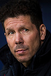 Coach Diego Simeone of Atletico de Madrid prior to the La Liga 2017-18 match between Atletico de Madrid and Getafe CF at Wanda Metropolitano on January 06 2018 in Madrid, Spain. Photo by Diego Gonzalez / Power Sport Images