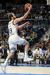 Real Madrid´s Sergio Rodriguez during 2014-15 Euroleague Basketball match between Real Madrid and Galatasaray at Palacio de los Deportes stadium in Madrid, Spain. January 08, 2015. (ALTERPHOTOS/Luis Fernandez)