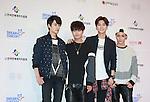 OFFROAD, Jun 07, 2014 : K-pop boy band OFFROAD pose before the Dream Concert in Seoul, South Korea. (Photo by Lee Jae-Won/AFLO) (SOUTH KOREA)