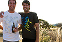 Kerby and Courtney Brown at home in Kalbarri, Western Australia