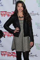 HOLLYWOOD, CA - DECEMBER 01: Paris Berelc arriving at the 82nd Annual Hollywood Christmas Parade held at Hollywood Boulevard on December 1, 2013 in Hollywood, California. (Photo by Xavier Collin/Celebrity Monitor)