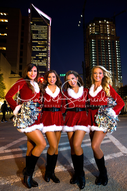 Thousands of people came out to be a part of the Carolina Panthers Annual Tree Lighting Ceremony at the Bank of America Stadium in Uptown Charlotte, North Carolina.<br /> <br /> Charlotte photographer - PatrickSchneiderPhoto.com