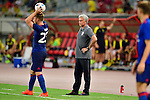 Manchester United Manager Jose Mourinho (c) during the International Champions Cup China 2016, match between Manchester United vs Borussia  Dortmund on 22 July 2016 held at the Shanghai Stadium in Shanghai, China. Photo by Marcio Machado / Power Sport Images