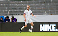 GUADALAJARA, MEXICO - MARCH 24: Henry Kessler #3 of the United States moves with the ball during a game between Mexico and USMNT U-23 at Estadio Jalisco on March 24, 2021 in Guadalajara, Mexico.