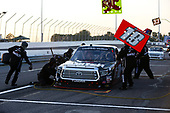 NASCAR Camping World Truck Series<br /> Drivin' For Linemen 200<br /> Gateway Motorsports Park, Madison, IL USA<br /> Saturday 17 June 2017<br /> Noah Gragson, Switch Toyota Tundra pit stop<br /> World Copyright: Barry Cantrell<br /> LAT Images