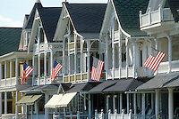 - New Jersey, historical houses of the nineteenth century in Cape May....- New Jersey, case storiche del diciannovesimo secolo a cape May