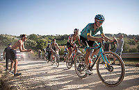 Jakob Fuglsang (DEN/Astana)<br /> <br /> 14th Strade Bianche 2020<br /> Siena > Siena: 184km (ITALY)<br /> <br /> delayed 2020 (summer!) edition because of the Covid19 pandemic > 1st post-Covid19 World Tour race after all races worldwide were cancelled in march 2020 by the UCI