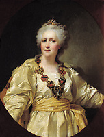 Catherine II in 1794, painted by Dmitry Levitzky - Catherine The Great-