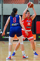 Sabrina Lozada-Cabage (28) of Puerto Rico pictured during a basketball game between the national teams of Puerto Rico and Serbia on Sunday 30 th of May 2021 in Kortrijk , Belgium . PHOTO SPORTPIX.BE   SPP   STIJN AUDOOREN