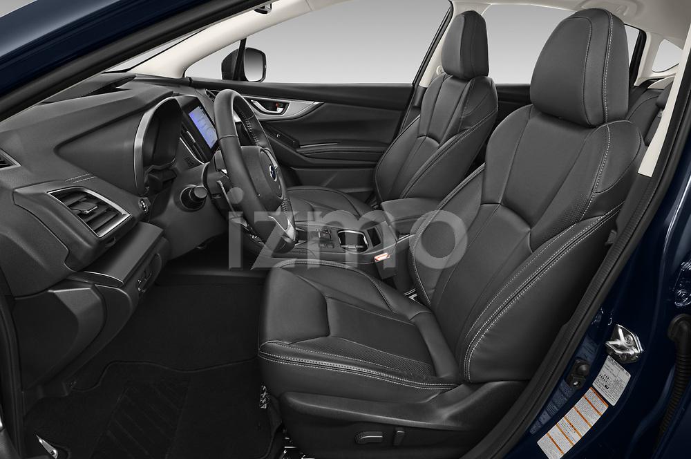 Front seat view of 2021 Subaru Impreza Premium 5 Door Hatchback Front Seat  car photos