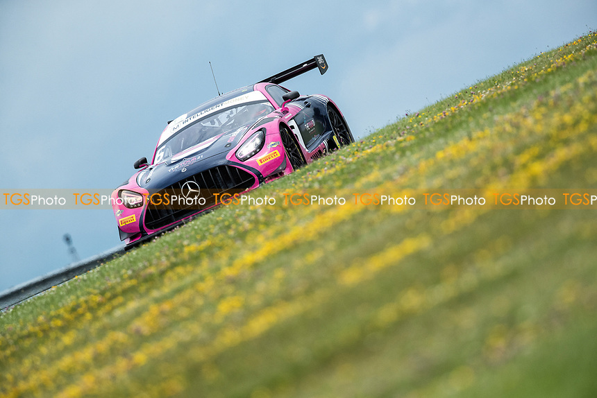 Ian Loggie & Yelmer Buurman, Mercedes AMG GT3, RAM Racing finished on the podium in second place during the British GT & F3 Championship on 11th July 2021
