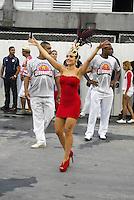 RIO DE JANEIRO-RJ DIA 29 DE JANEIRO DE 2012<br /> Na noite de domingo ensaio técnico da escola de samba unidos do viradouro, situado no sambódromo no centro do Rio de janeiro<br /> Rainha de bateria<br /> Monique Alfradique