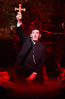 """Jimmy Nail<br /> in the musical of """"The War of the Worlds"""" at the Dominion Theatre, London.<br /> <br /> <br /> ©Ash Knotek  D3083 12/02/2016"""
