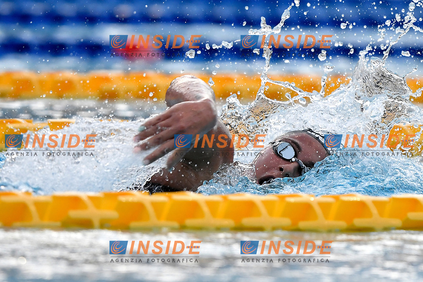 Simona Quadarella of Italy competes in the women 1500m freestyle during the 58th Sette Colli Trophy International Swimming Championships at Foro Italico in Rome, June 25th, 2021. Simona Quadarella placed first.<br /> Photo Andrea Staccioli/Insidefoto/Deepbluemedia