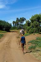 bei Lagoa, Santo Antao, Kapverden, Afrika