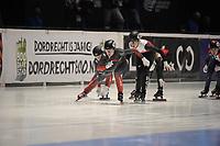 SPEEDSKATING: DORDRECHT: 06-03-2021, ISU World Short Track Speedskating Championships, SF 3000m Relay, (CAN), (POL), ©photo Martin de Jong