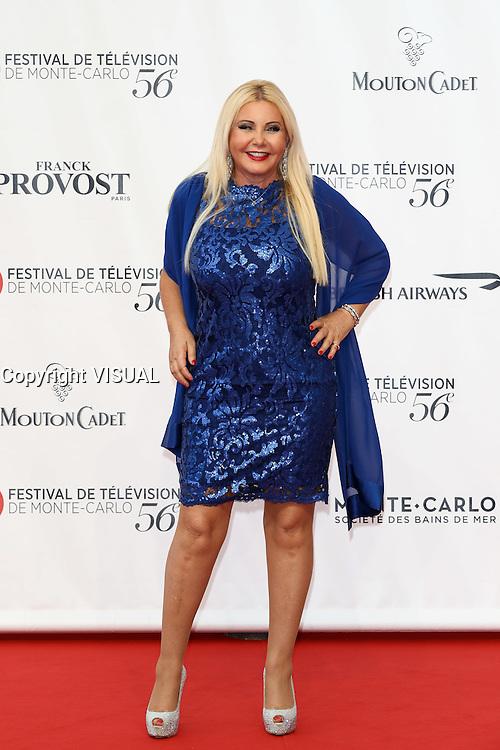 56th Monte-Carlo Television Festival opening red carpet. Monika Bacardi.