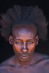 Hamar tribesman, Omo River Valley, Ethiopia