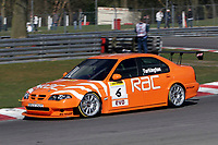Round 1 of the 2006 British Touring car Championship. #6 Colin Turkington (GBR). Team RAC. MG ZS.
