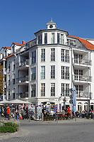 Strandstraße in Kühlungsborn-Ost, Mecklenburg-Vorpommern, Deutschland