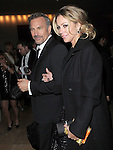 Kevin Costner and Christine Baumgartner  exiting The 70th Annual Golden Globe Awards held at The Beverly Hilton Hotel in Beverly Hills, California on January 13,2013                                                                   Copyright 2013 Hollywood Press Agency