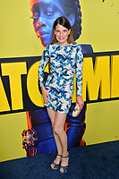 """LOS ANGELES, USA. October 15, 2019: Suzanne Cryer at the premiere of HBO's """"Watchmen"""" at the Cinerama Dome, Hollywood.<br /> Picture: Paul Smith/Featureflash"""