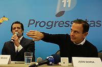 22.06.2018 - Partido Progressista anuncia apoio à pré-candidatura de Doria em SP