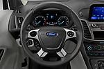 Car pictures of steering wheel view of a 2021 Ford Transit-Connect XL 4 Door Car Van Steering Wheel