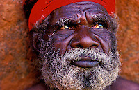 Traditional Australian Aboriginal, Ayers Rock, Image from the Book Journey through Color and Time