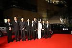 Baiqing Xin, Huang Xuan, Shota Sometani, Hiroshi Abe, and Keiko Matsuzaka, October 25, 2017 - The 30th Tokyo International Film Festival, Opening Ceremony at Roppongi Hills in Tokyo, Japan on October 25, 2017. (Photo by 2017 TIFF/AFLO)