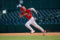 Alex Mooney (22) steals second during the Baseball Factory All-Star Classic at Dr. Pepper Ballpark on October 4, 2020 in Frisco, Texas.  Alex Mooney (22), a resident of Rochester Hills, Michigan, attends Orchard Lake St. Mary's Preparatory School.  (Mike Augustin/Four Seam Images)