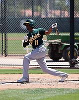 Kevin Richards - Oakland Athletics 2019 extended spring training (Bill Mitchell)