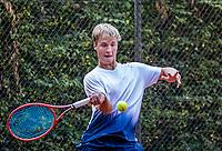 Hilversum, Netherlands, August 5, 2021, Tulip Tennis center, National Junior Tennis Championships 16 and 18 years, NJK,Boys single 16 years, Daan Meijer (NED)<br /> Photo: Tennisimages/Henk Koster