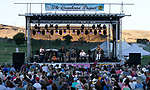 Pure Prairie League performs at the 11th annual Concert Under the Stars fundraiser for The Greenhouse Project, in Carson City, Nev., on Wednesday, July 10, 2019.<br />