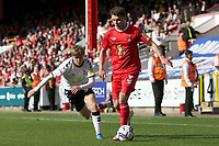 Connor Wood of Leyton Orient during Leyton Orient vs Oldham Athletic, Sky Bet EFL League 2 Football at The Breyer Group Stadium on 11th September 2021